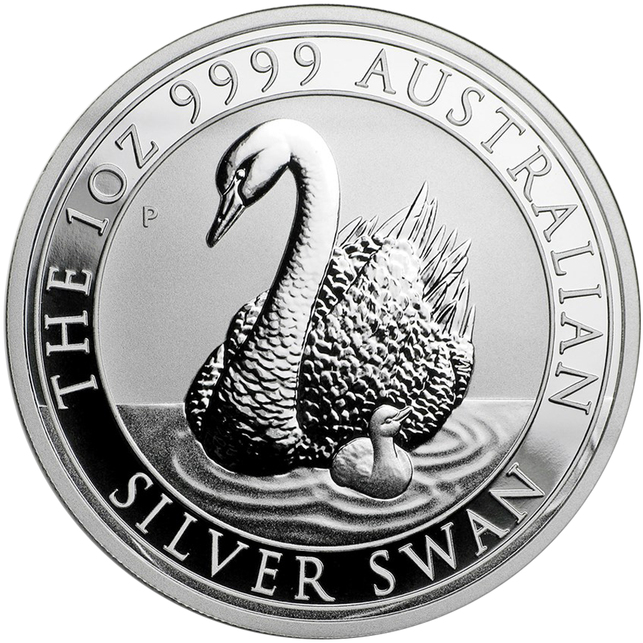 Pre-Owned 2018 Australian Swan 1oz Silver Coin - VAT Free