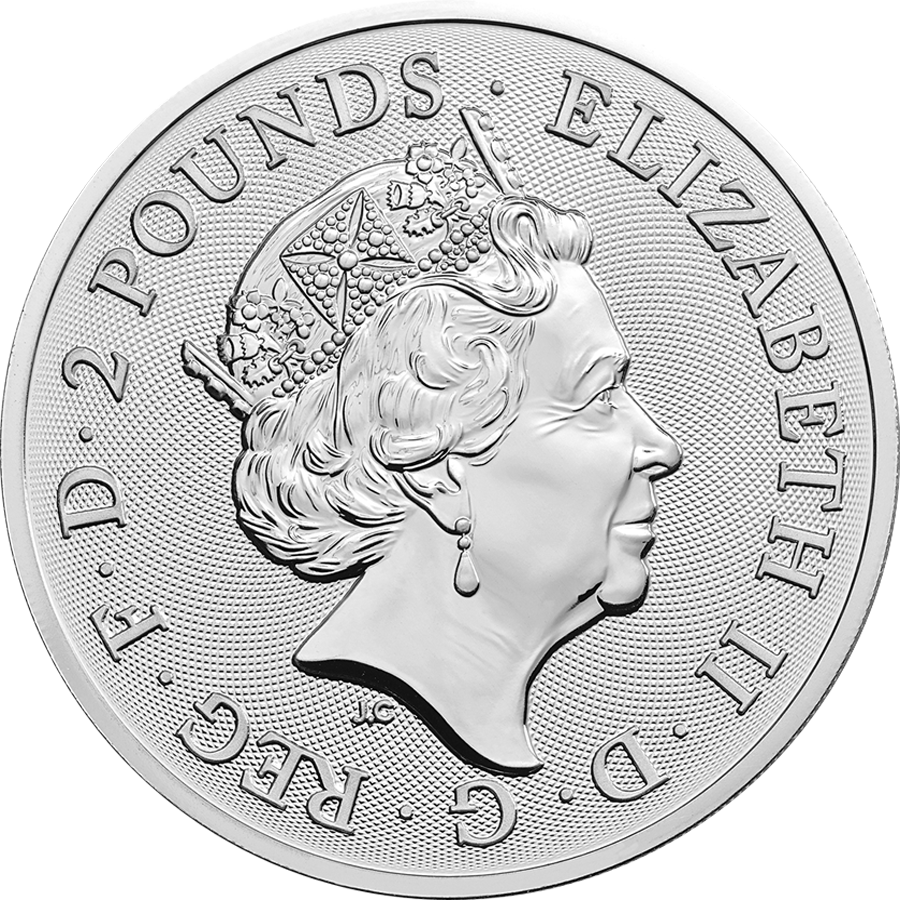 2019 UK Coat of Arms 1oz Silver Coin (Image 2)