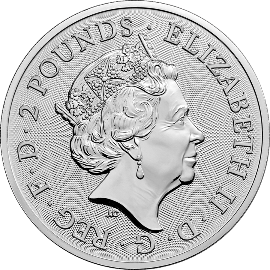 2020 UK Lunar Rat 1oz Silver Coin (Image 2)