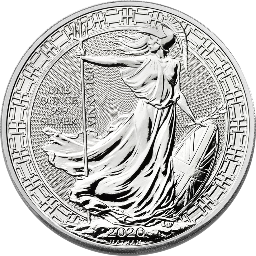 2020 UK Britannia Oriental Border 1oz Silver Coin