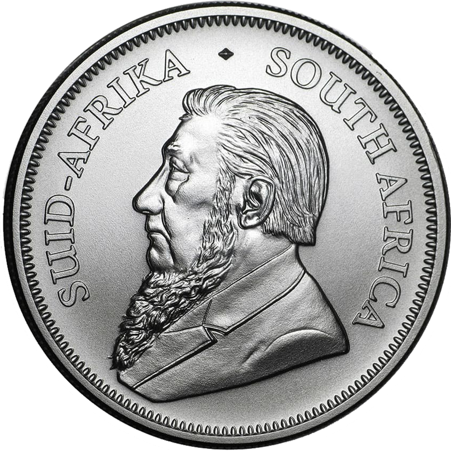 2020 South African Krugerrand 1oz Silver Coin (Image 2)