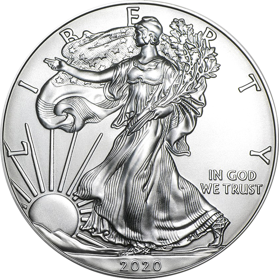 2020 USA Eagle 1oz Silver Coin
