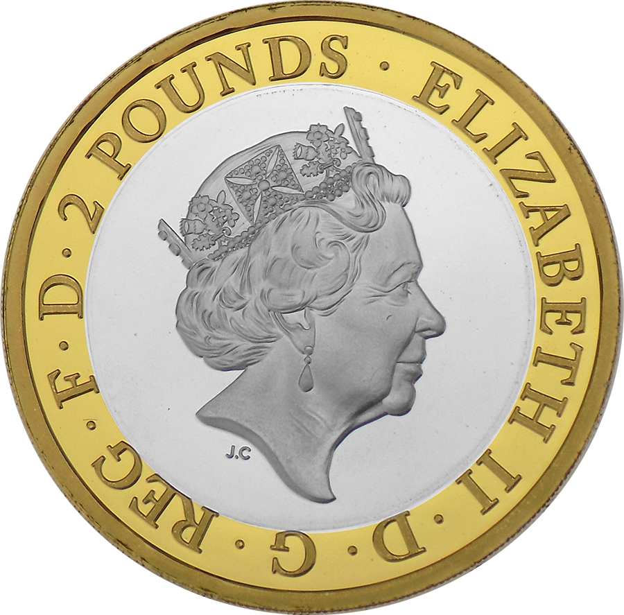 Pre-Owned 2018 UK RAF Centenary Sea King £2 Silver Proof Coin - VAT Free (Image 3)