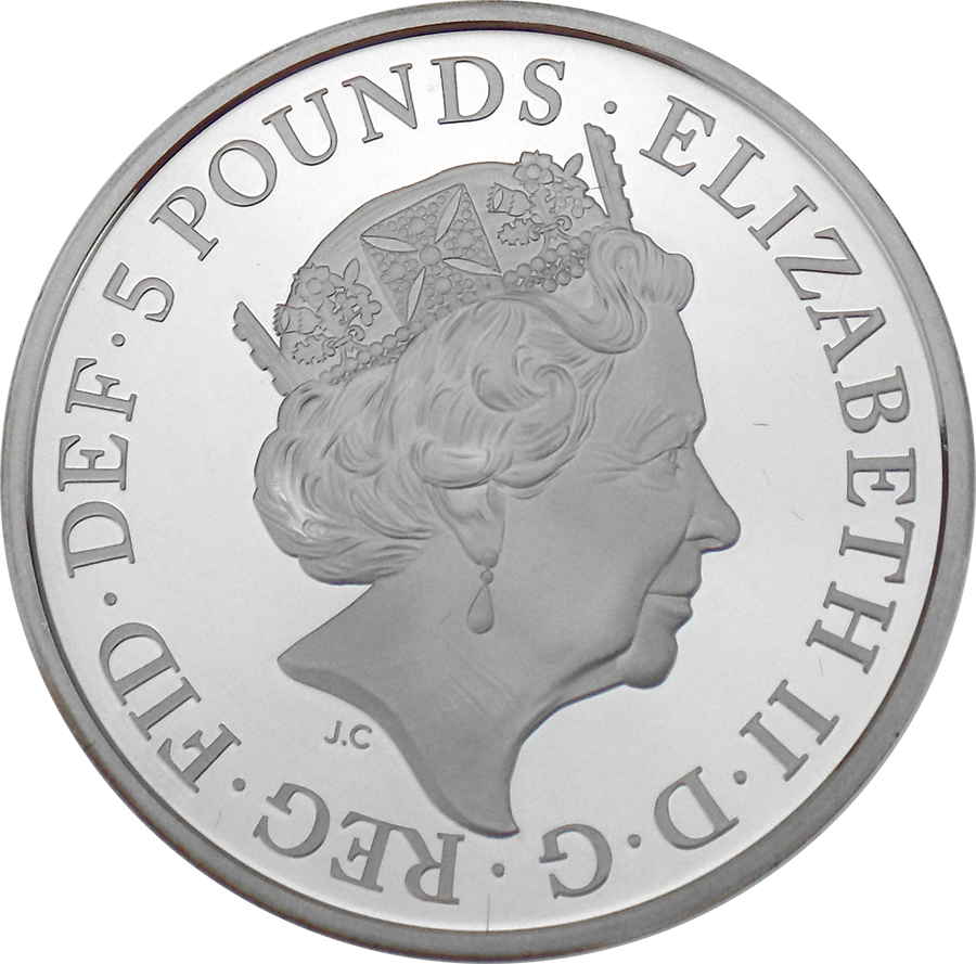 Pre-Owned 2018 UK Four Generations of The Royal Family £5 Silver Proof Coin - VAT Free (Image 3)