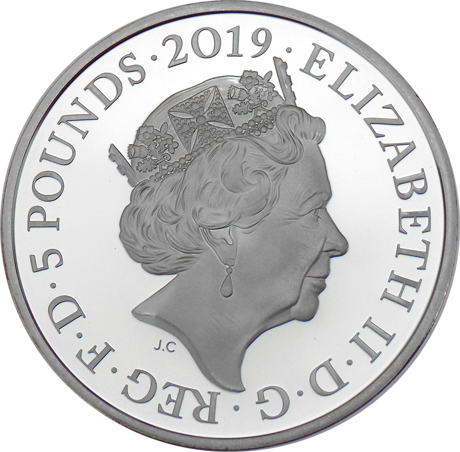Pre-Owned 2019 UK Tower Of London: Ceremony Of The Keys £5 Silver Proof Coin - VAT Free (Image 3)