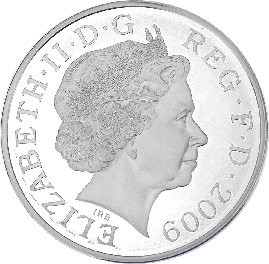 Pre-Owned 2009 UK Henry VIII Silver Proof Piedfort £5 Coin - VAT Free (Image 3)