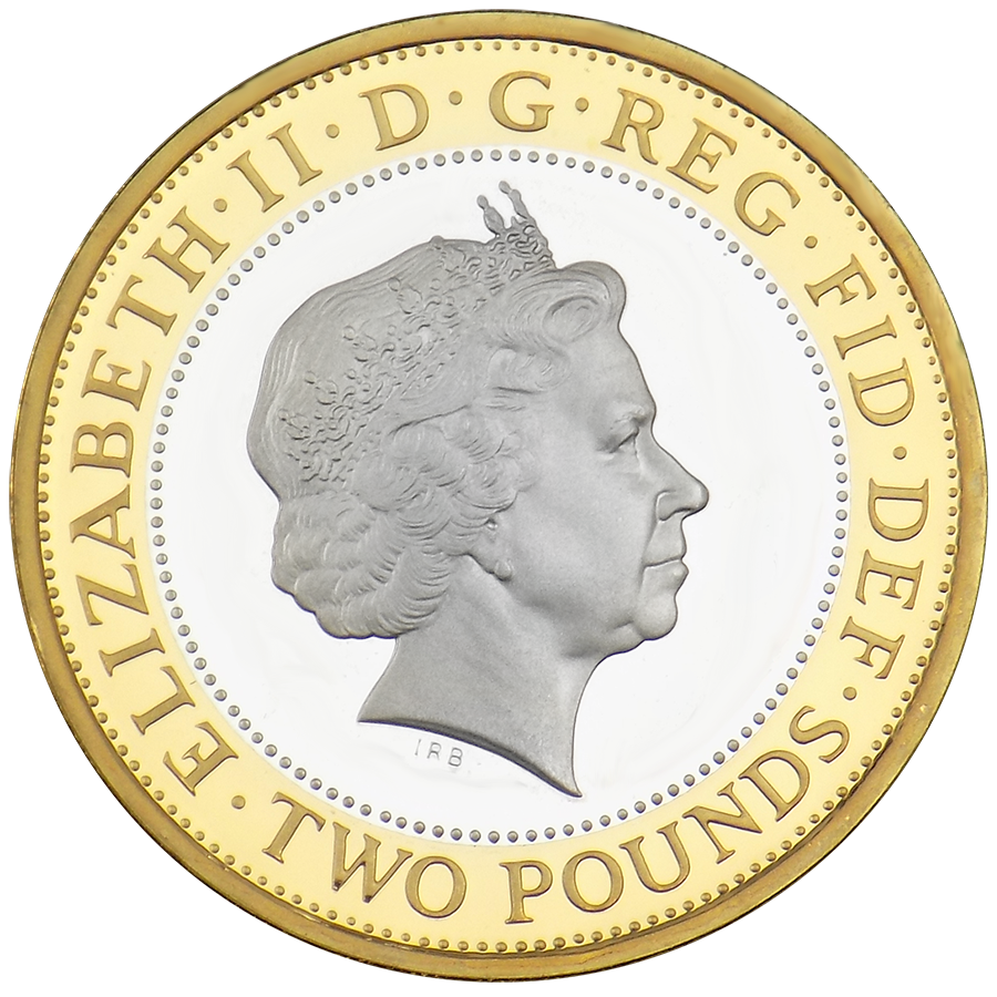 Pre-Owned 2011 UK King James Bible £2 Proof Piedfort Silver Coin - VAT Free (Image 3)