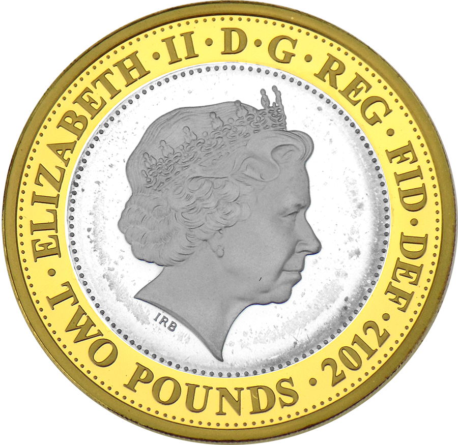 Pre-Owned 2012 UK Olympic Games Handover Ceremony To Rio £2 Proof Piedfort Silver Coin - VAT Free (Image 3)