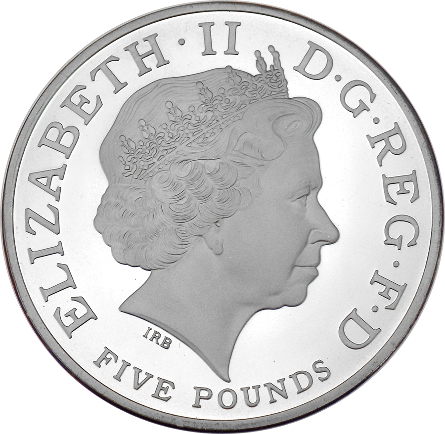 Pre-Owned 2008 UK The Prince Of Wales £5 Silver Proof Crown Coin - VAT Free (Image 3)