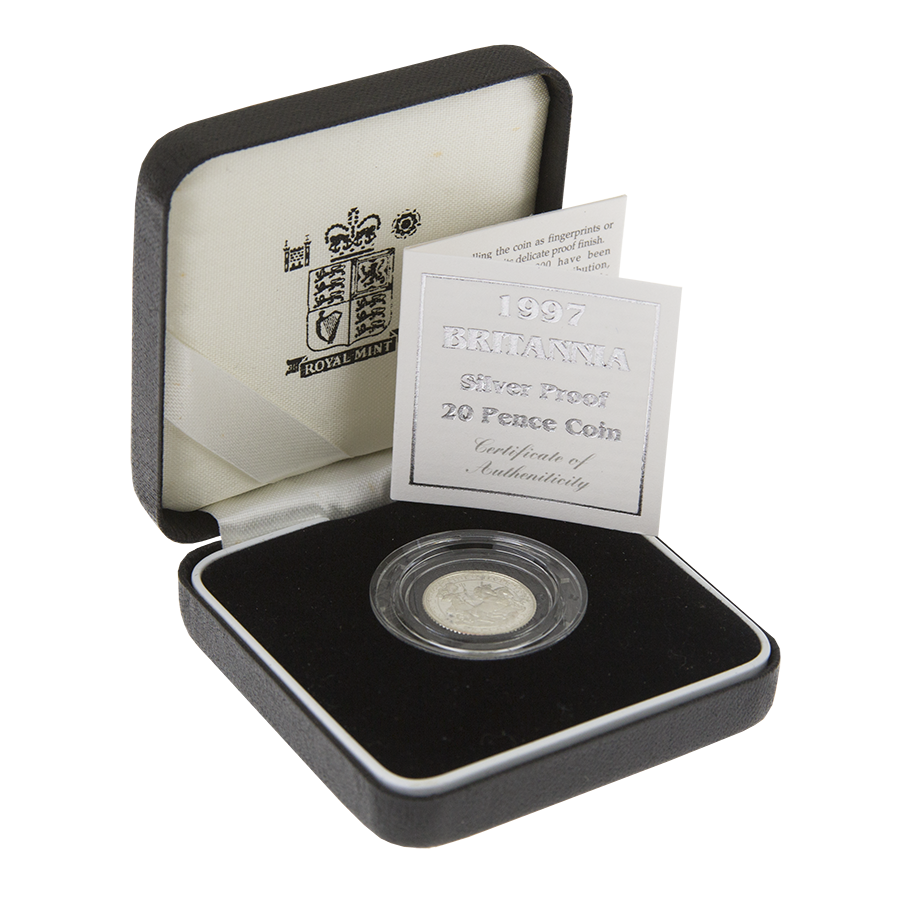 Pre-Owned 1997 UK Britannia 1/10oz Proof Silver Coin - VAT Free