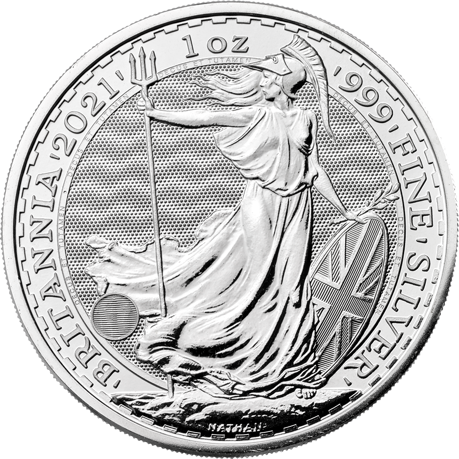 2021 UK Britannia 1oz Silver Coin