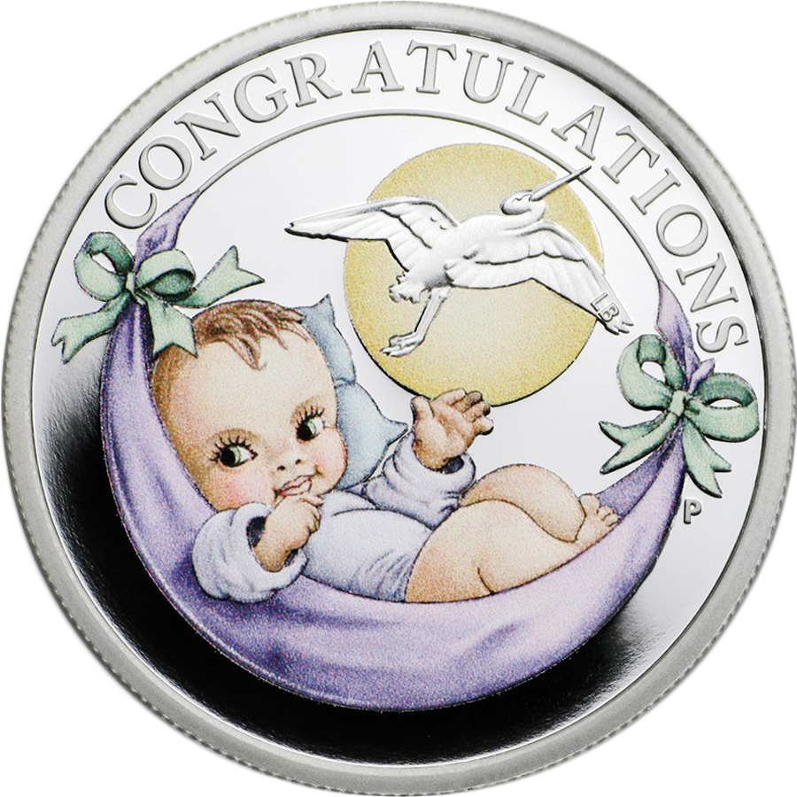 2021 Australian Newborn 1/2oz Proof Silver Coin