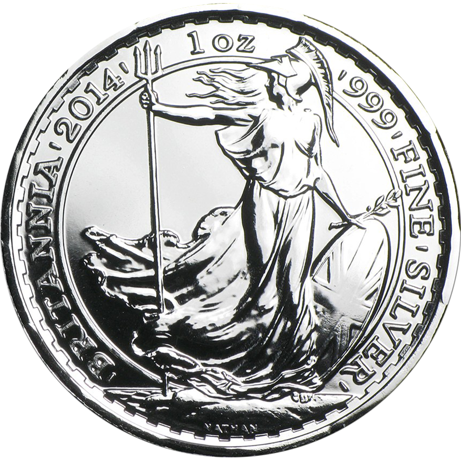 Pre-Owned 2014 UK Britannia Privy Horse 1oz Silver Coin - VAT Free