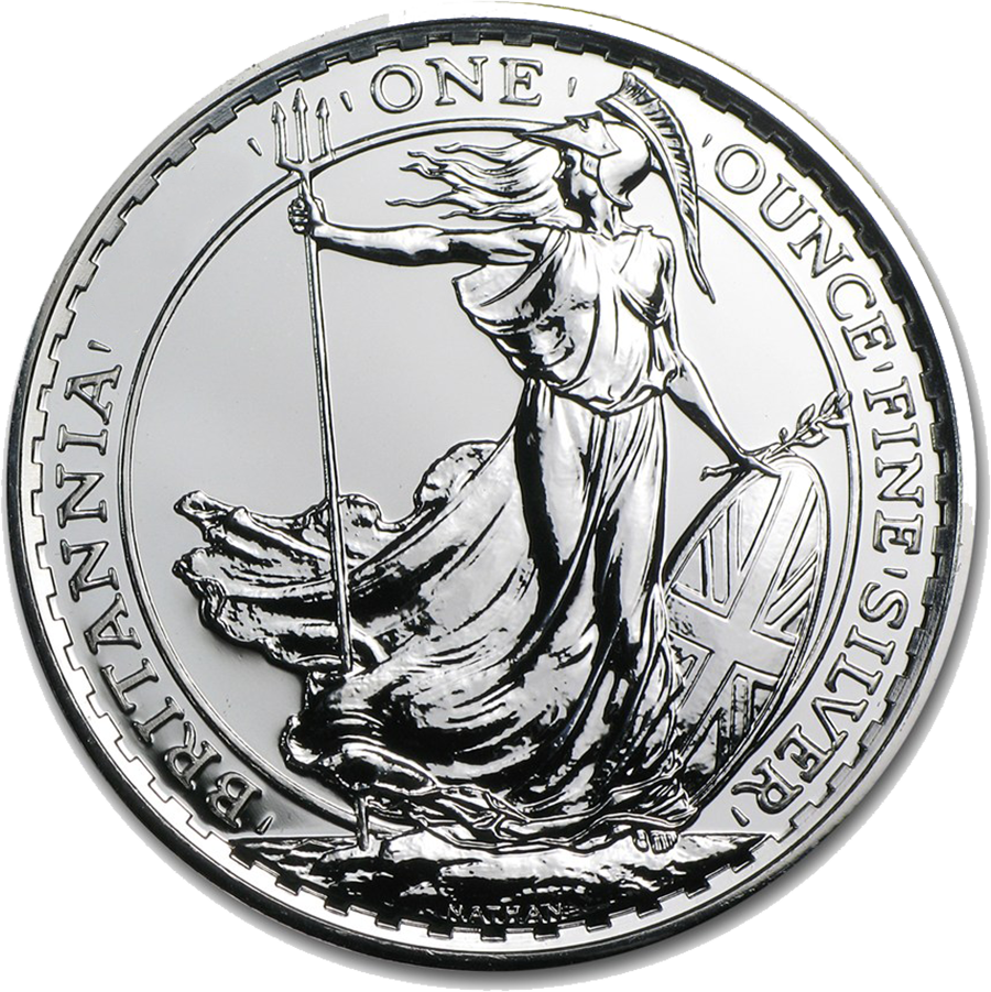 Pre-Owned Pre 2013 UK Britannia 1oz Silver Coin - VAT Free