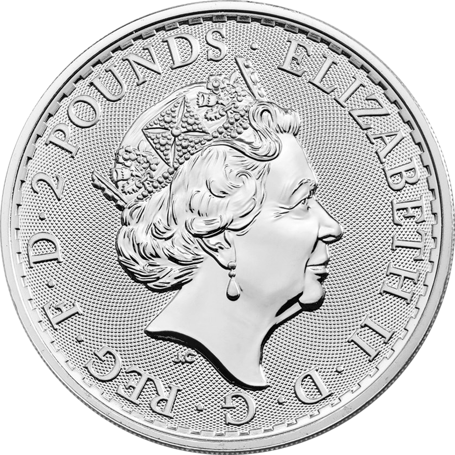 Pre-Owned Post 2012 UK Britannia 1oz Silver Coin - VAT Free (Image 3)