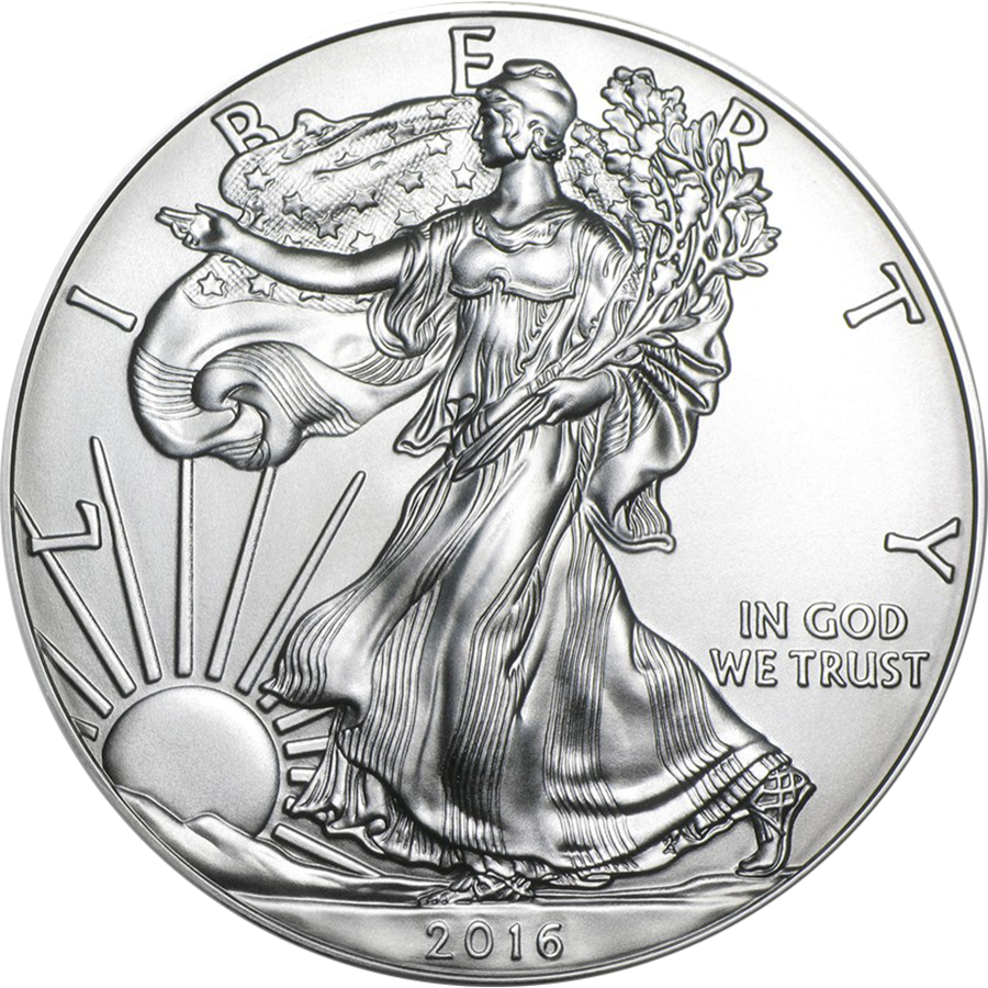 2016 USA Eagle 1oz Silver Coin