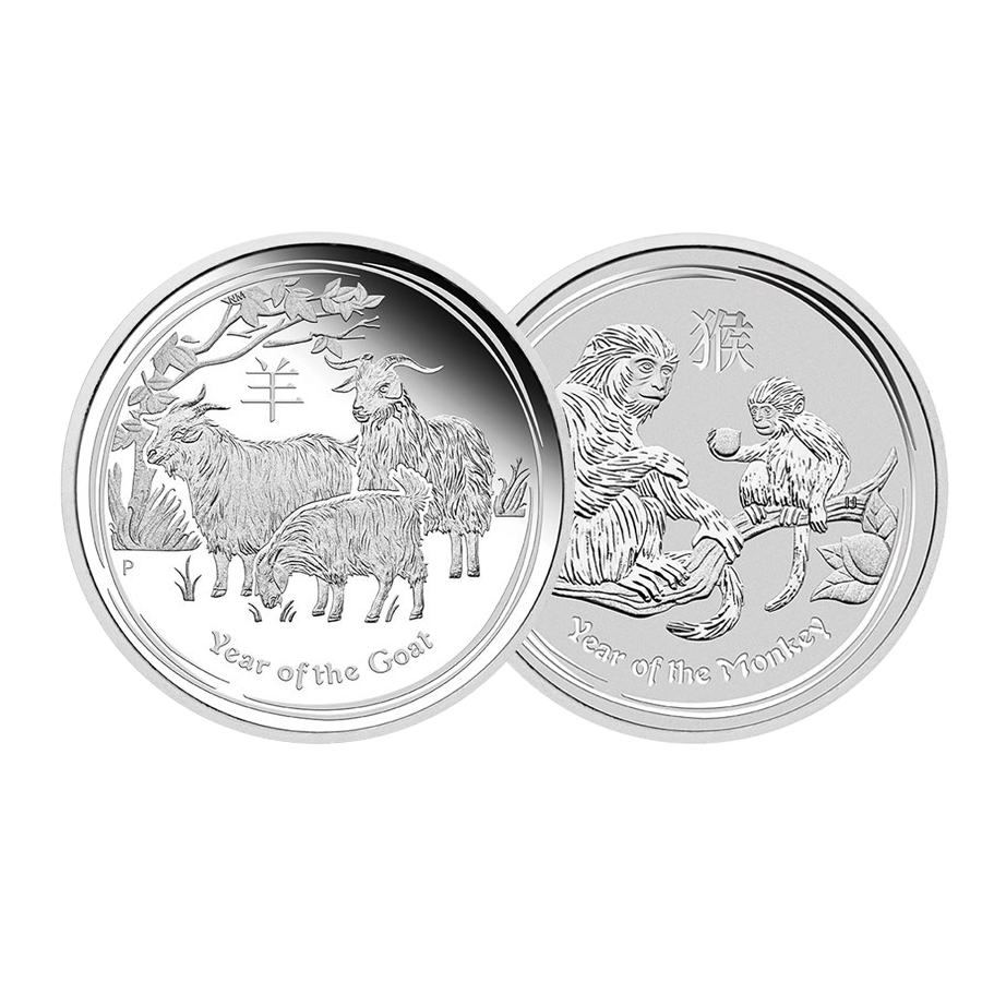 Pre-Owned 1/2oz Silver Coins - VAT Free