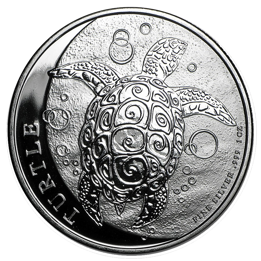 2016 Niue Hawksbill Turtle 1oz Silver Coin