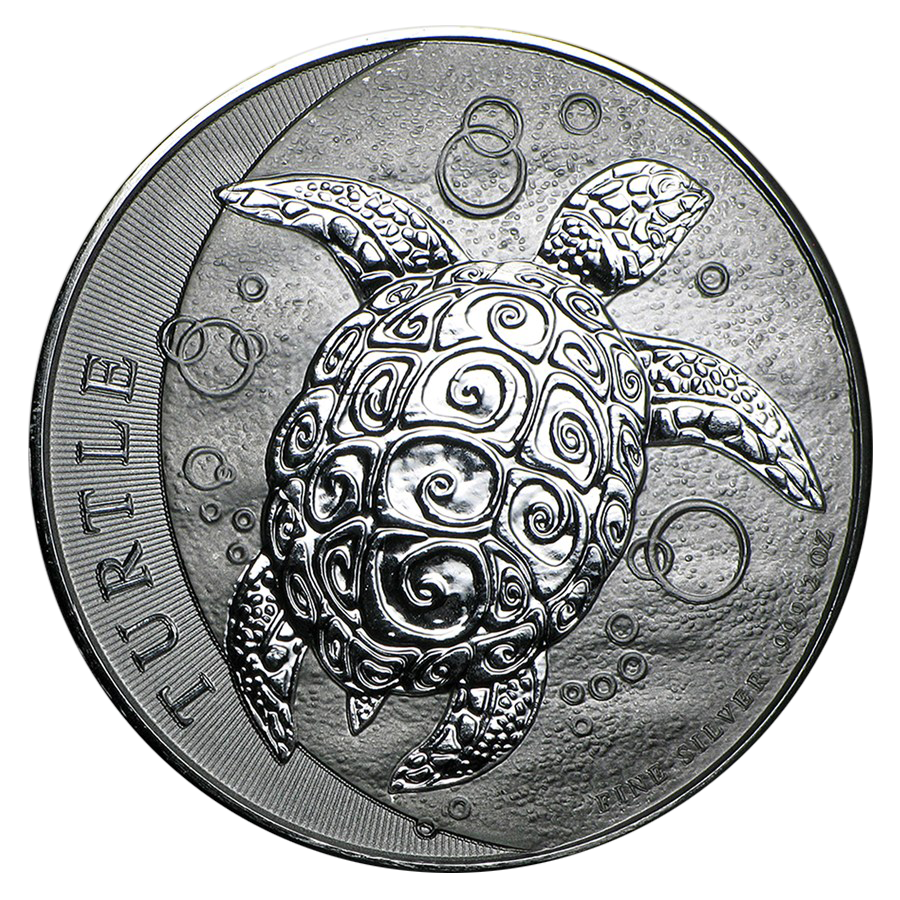 2016 Niue Hawksbill Turtle 2oz Silver Coin