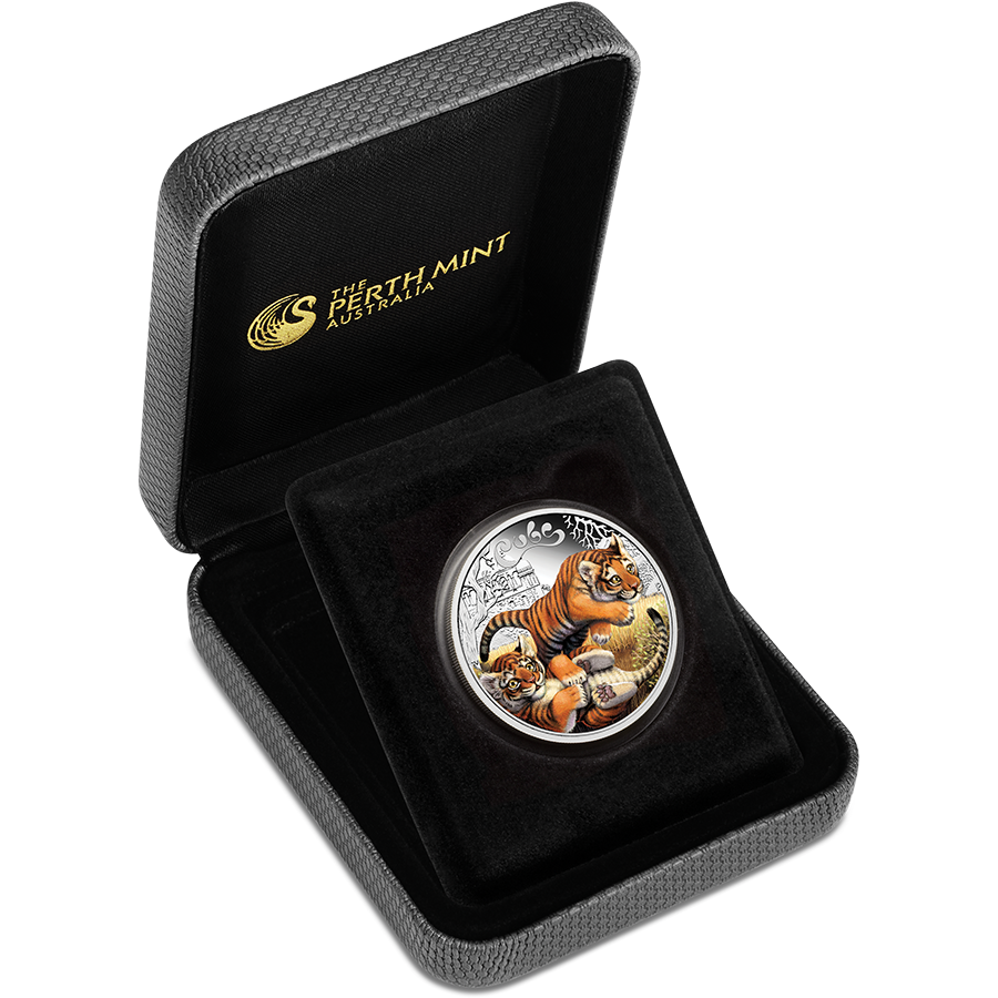 2016 Australian The Cubs - Tiger Proof 1/2oz Silver Coin