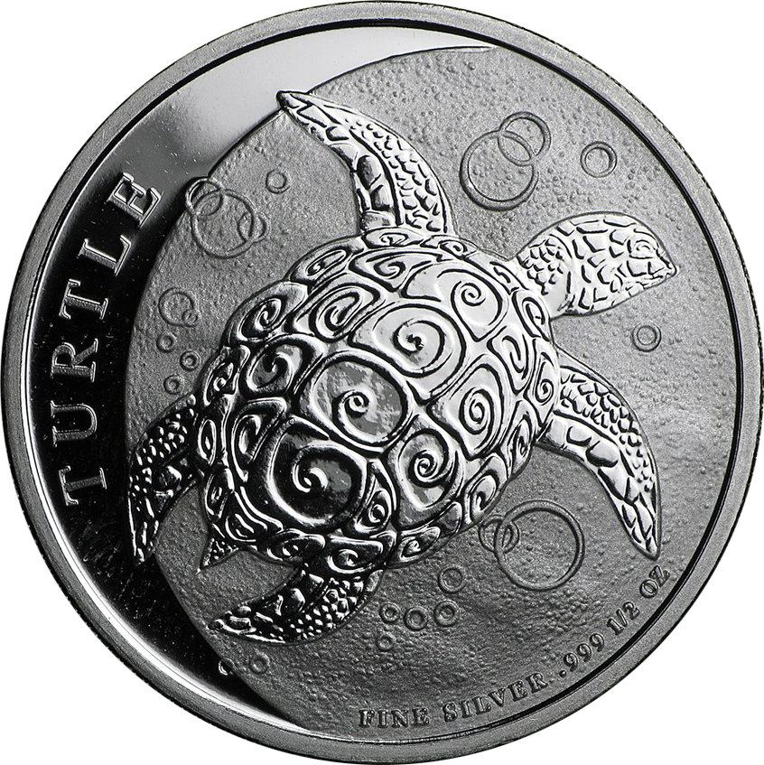 2016 Niue Hawksbill Turtle 1/2oz Silver Coin