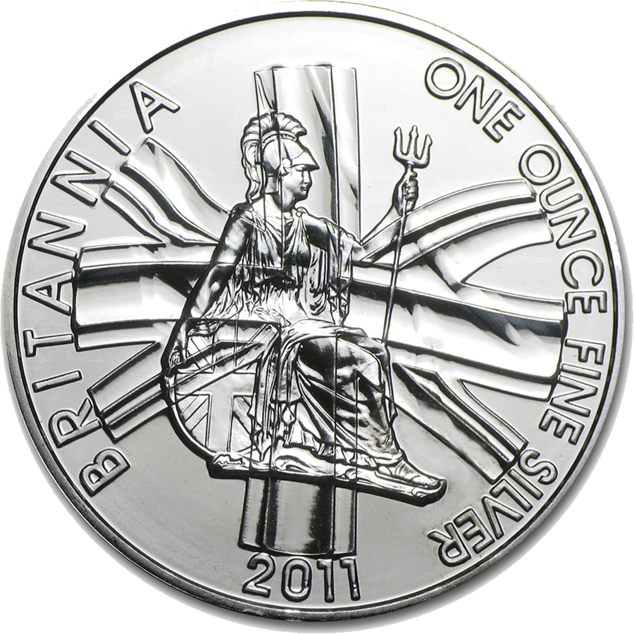 Pre-Owned 2011 UK Britannia 1oz Silver Coin - VAT Free