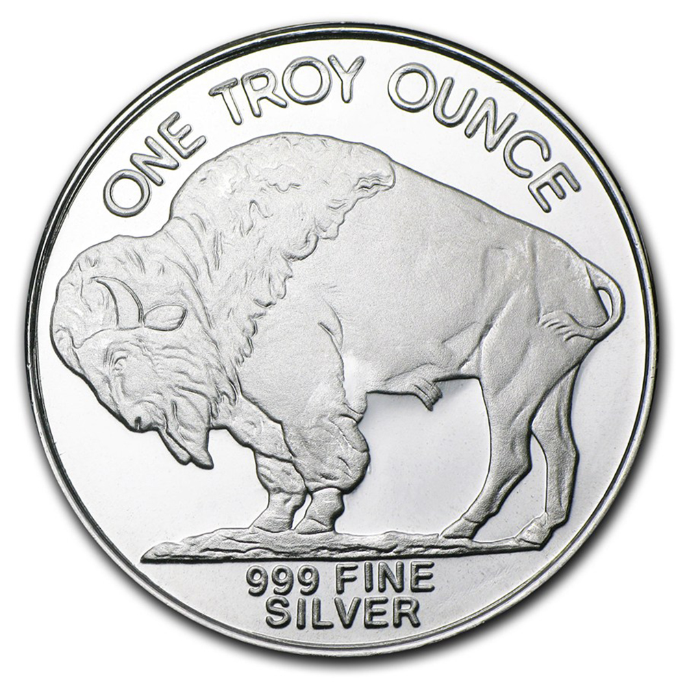 Pre-Owned USA Buffalo 1oz Silver Round