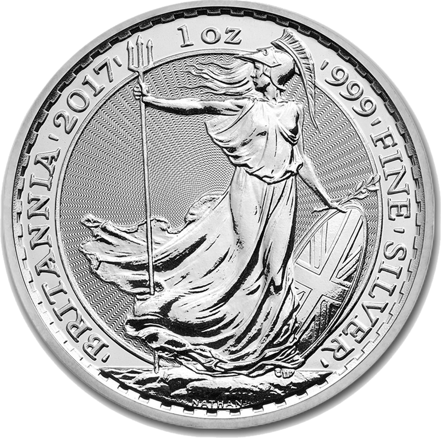 2017 UK Britannia 1oz Silver Coin