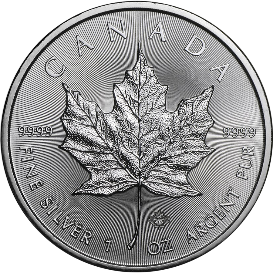 2017 Canadian Maple 1oz Silver Coin (Image 1)