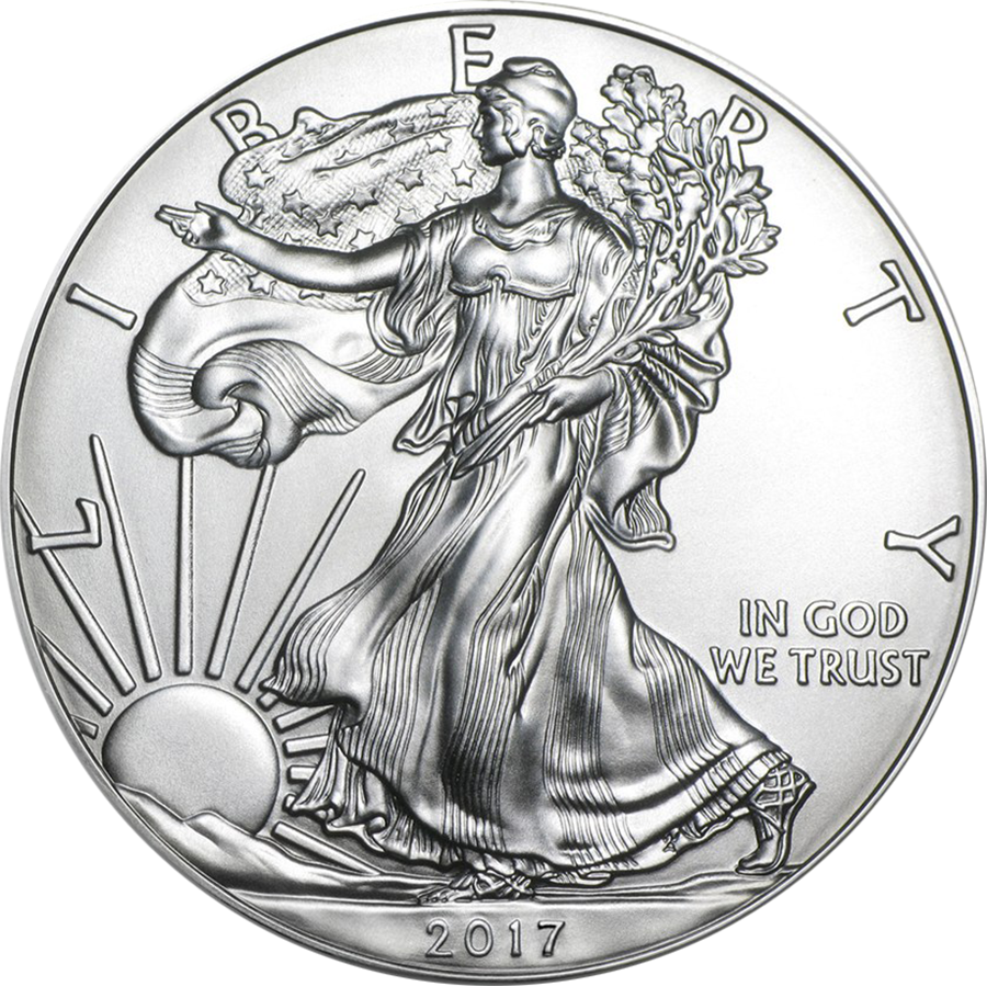 2017 USA Eagle 1oz Silver Coin