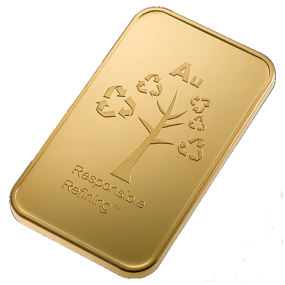 Metalor Stamped 1oz Gold Bar (Image 4)