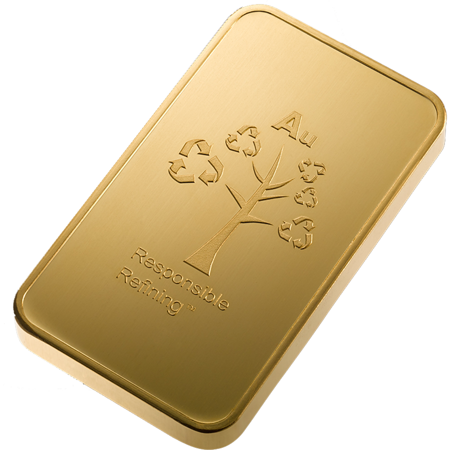 Metalor Stamped 100g Gold Bar (Image 4)