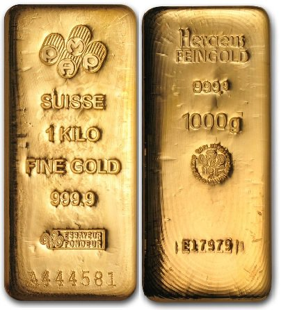 1Kg Gold Bullion Bar