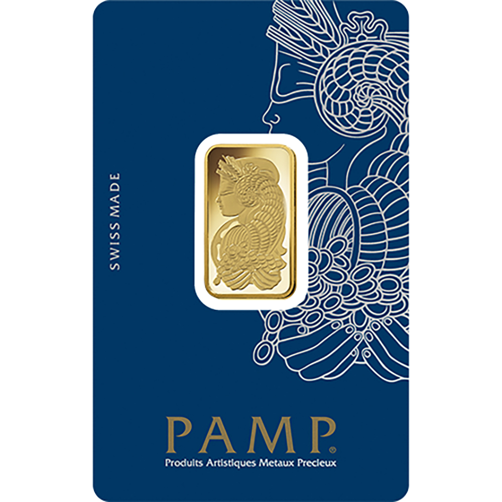 PAMP Suisse Fortuna 10g Gold Bar