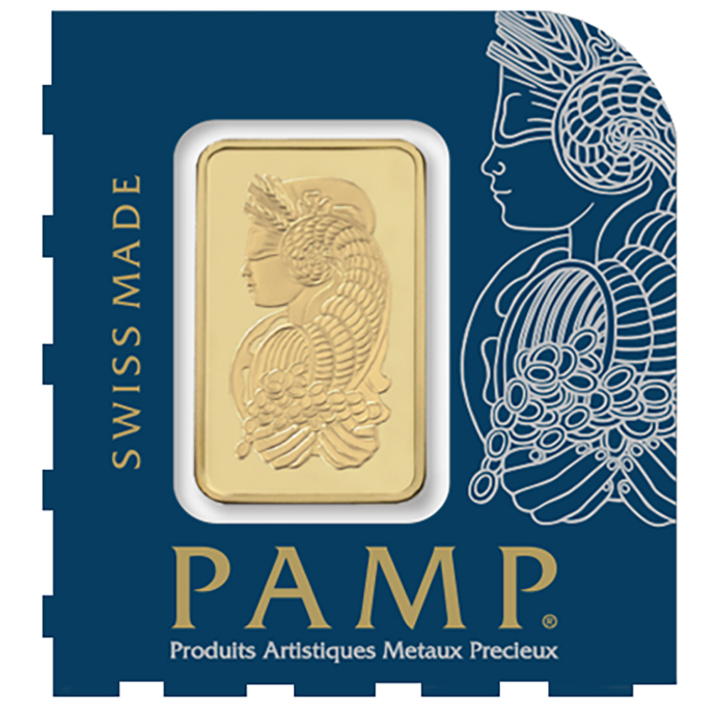 PAMP Suisse 25x 1g Multigram Gold Bar (Image 3)