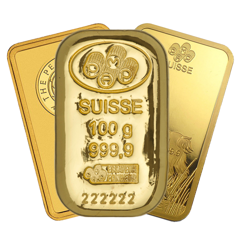Pre-Owned 100g Gold Bar