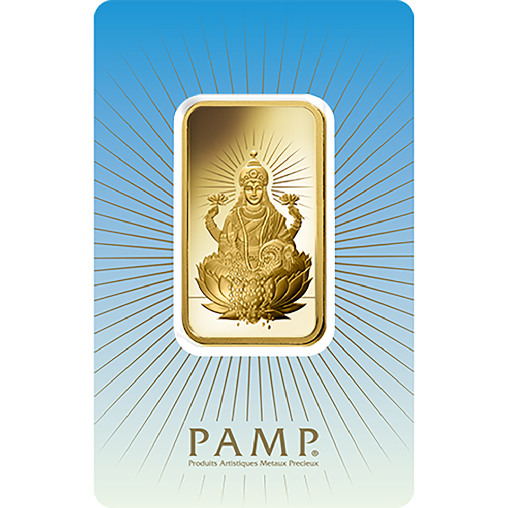 PAMP 'Faith' Lakshmi 10g Gold Bar