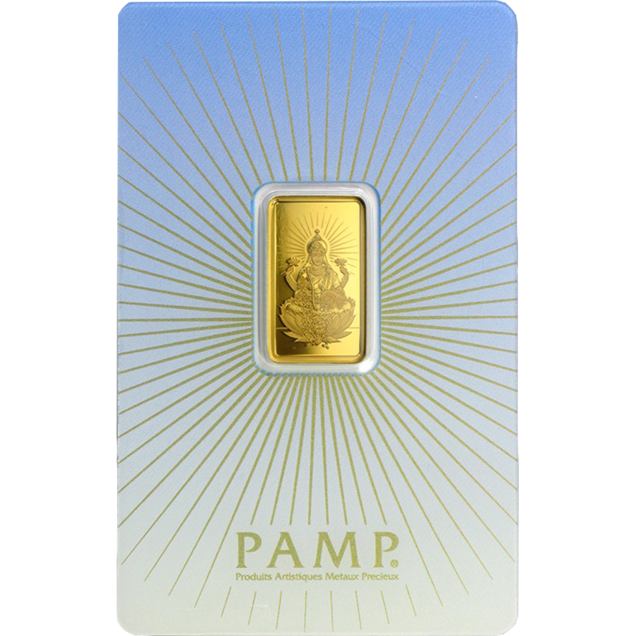 PAMP 'Faith' Lakshmi 5g Gold Bar