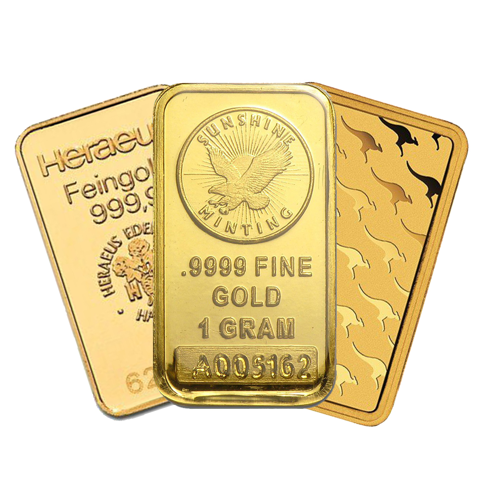 Pre-Owned 1g Gold Bar