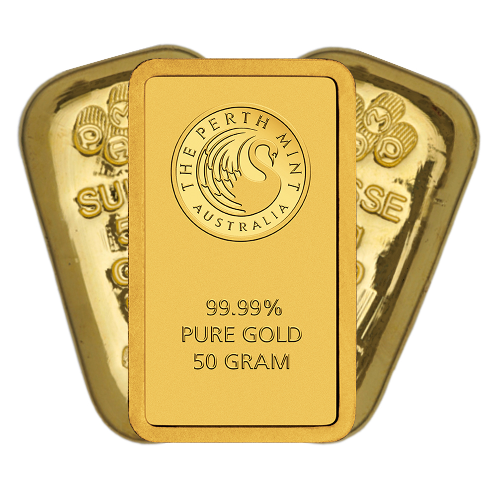 Pre-Owned 50g Gold Bar