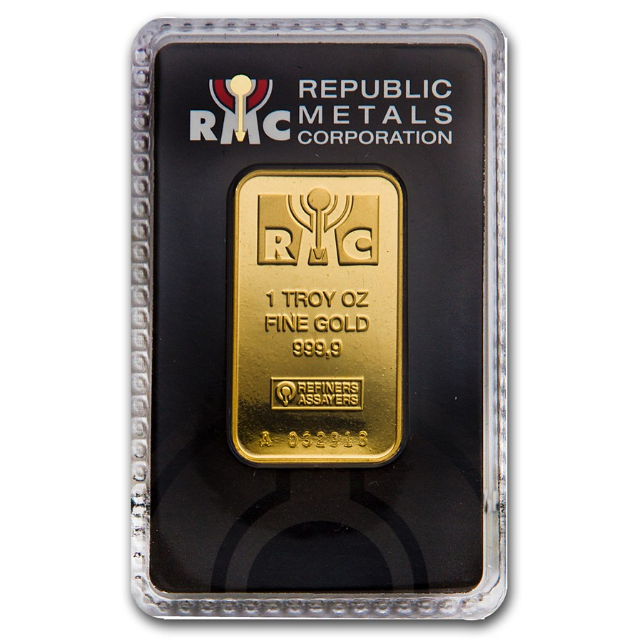 Buy Rmc 1oz Gold Bars Free Fully Insured Delivery