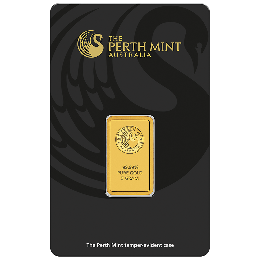 Perth Mint 5g Gold Bar