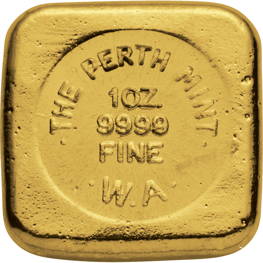 Buy The Perth Mint 1oz Cast Gold Bar Atkinsons Bullion
