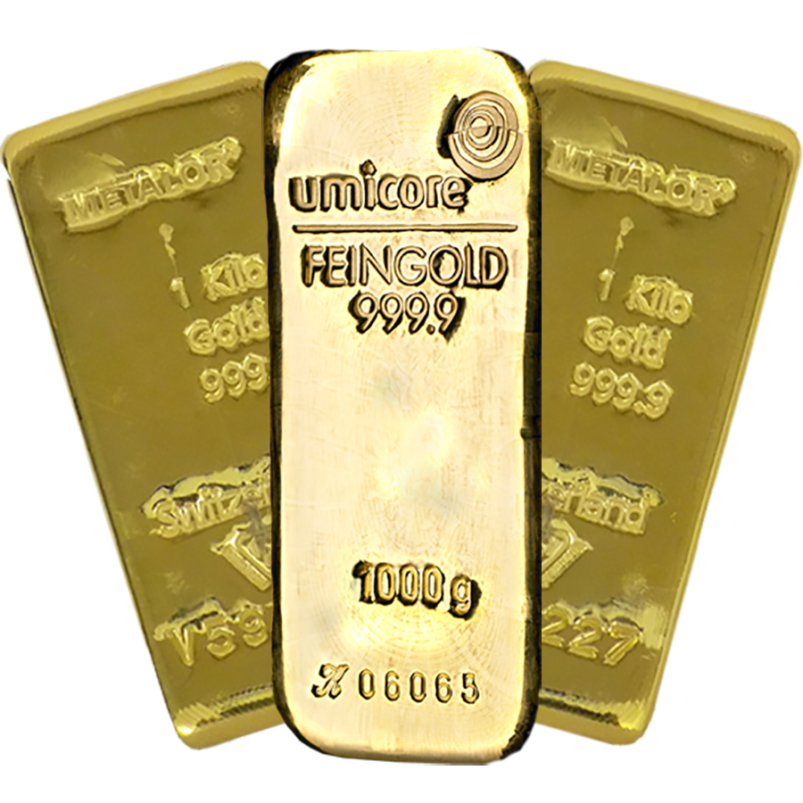 Bullion 1kg Gold Cast Bar
