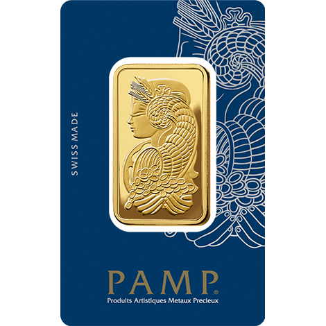 Pamp Suisse Fortuna 3 Tola Gold Bar