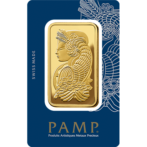 PAMP Suisse Fortuna 5 Tola Gold Bar