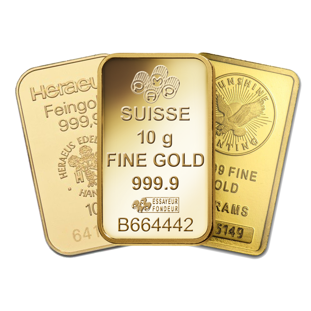 10g Gold Bullion Bar
