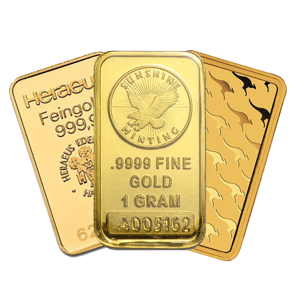 1g Gold Bullion Bar