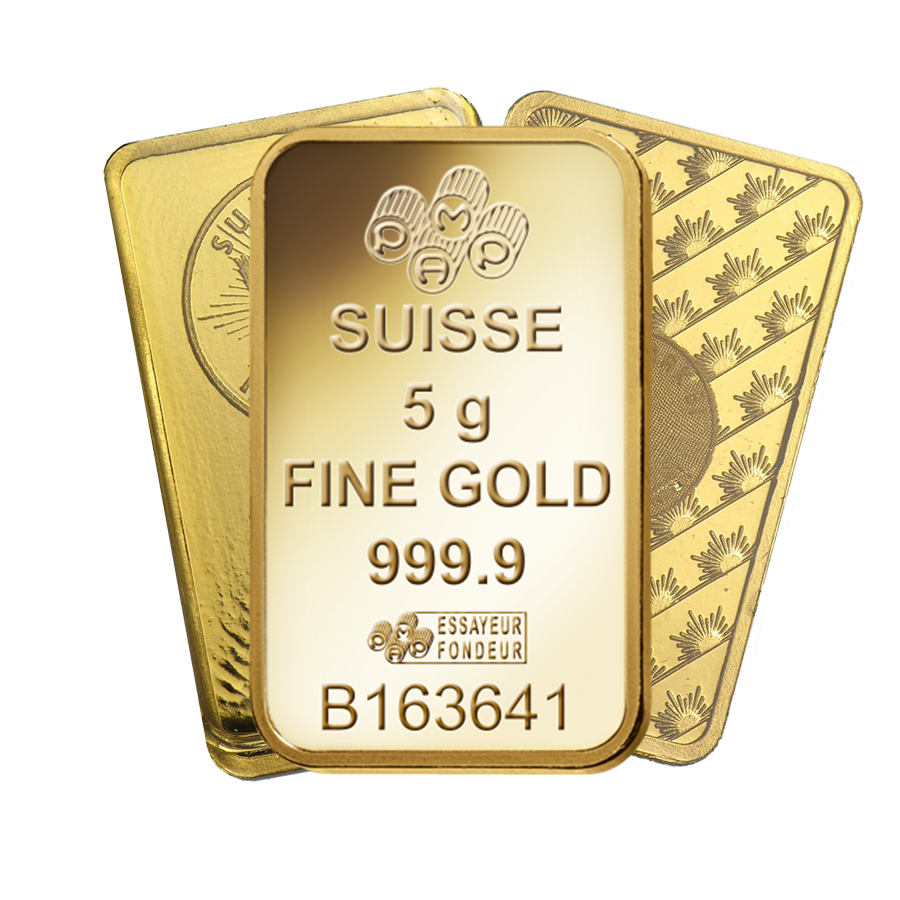 5g Gold Bullion Bar