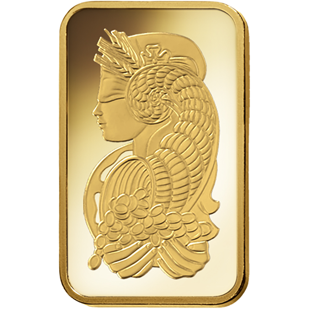 PAMP Suisse 2.5g Fortuna Gold Bar with Gift Box & Certificate (Image 3)